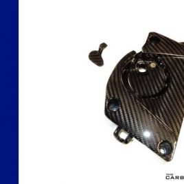 BMW S1000RR 2009 TO 14 CARBON FIBRE SPROCKET COVER IN TWILL WEAVE GLOSS FIBER
