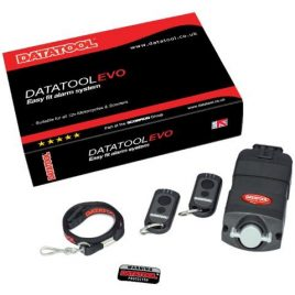 DATATOOL EVO SELF FIT ALARM SYSTEM MOTION SENSOR MOTORCYCLE MOTORBIKE SCOOTER