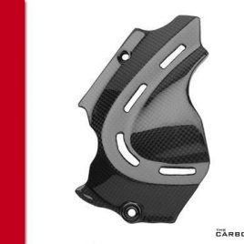 THE CARBON KING SPROCKET COVER FITS DUCATI MONSTER 696 796 & 1100 FIBRE FIBER