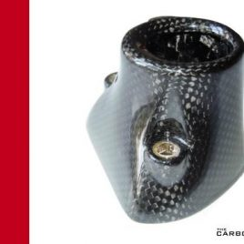 THE CARBON KING CARBON FIBRE KEYGUARD SURROUND DUCATI MONSTER 2002 ONWARDS