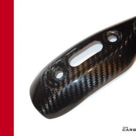 THE CARBON KING EXHAUST HEAT SHIELD COVER FOR DUCATI MONSTER 696 796 1100 FIBER