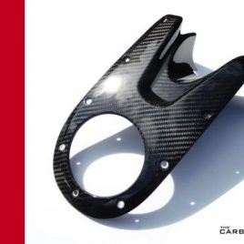 THE CARBON KING UPPER PETROL TANK COVER DUCATI MONSTER 696 796 1100 FIBER FIBRE