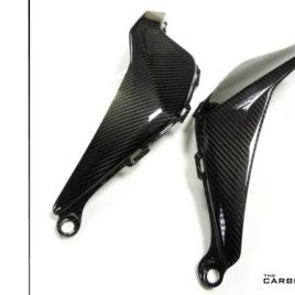 HONDA CBR1000RR FIREBLADE 2012 -16 CARBON FIBRE TANK SIDE PANELS IN TWILL WEAVE
