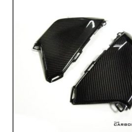 HONDA CBR1000RR FIREBLADE 2017 ON CARBON FIBRE TANK SIDE PANELS IN TWILL WEAVE