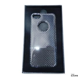 THE CARBON KING iPHONE 5 CARBON CASE IN 3K PLAIN WEAVE WITH PRESENTATION BOX