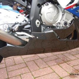 BMW S1000RR 2019-14 CARBON FIBRE RACING BELLY PAN (COLLECTION ONLY) FIBER