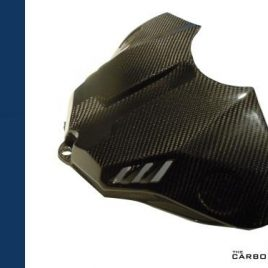 YAMAHA R1 2015 ON CARBON FIBRE TANK AIR BOX COVER IN TWILL WEAVE FIBRE GAS